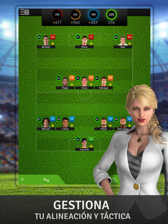 Golden Manager - The ultimate soccer game Screenshot