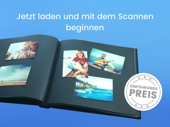 Unfade - Mobiler Foto Album Scanner Screenshot