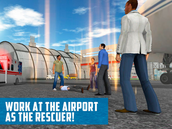 Emergency Airport Transport Simulator 3D Full Screenshots