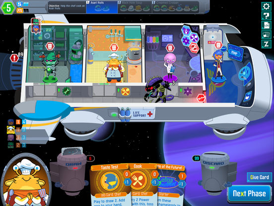 Space Food Truck iOS