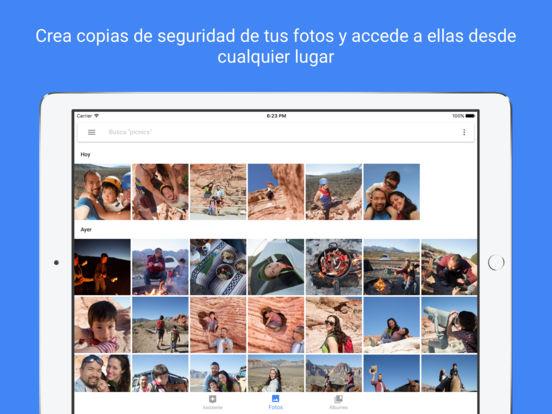 Google Fotos: espacio gratis para fotos y vídeos Screenshot