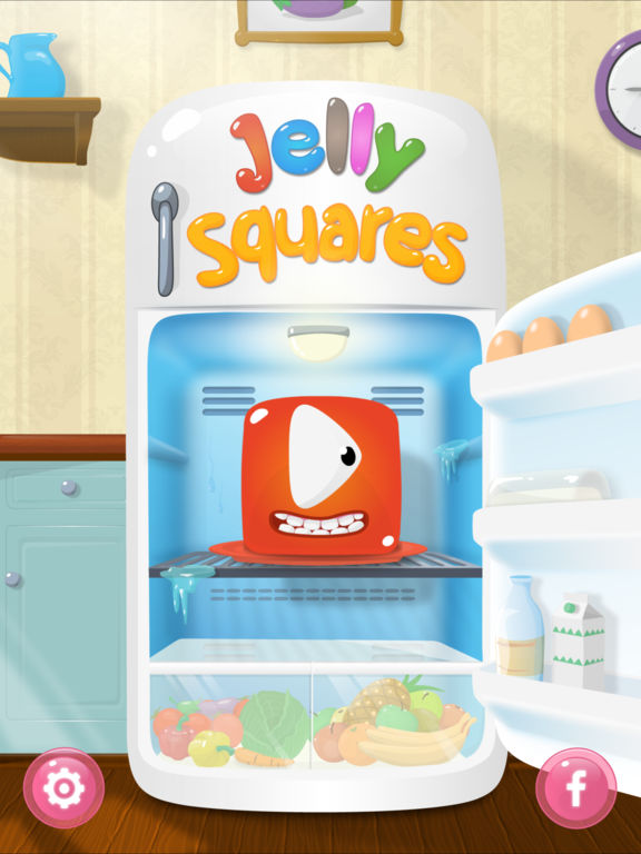 Jelly Squares iOS Screenshots