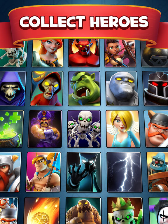 Castle crush epic card game on the app store