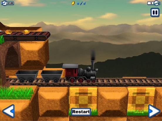 train simulator 3d - hd - freie bahn fahren - spie Screenshot