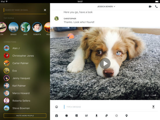 Wire — Private Messenger Screenshot