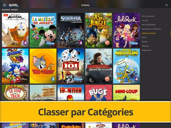 Molotov : TV en Direct, Replay, et plus… iPad