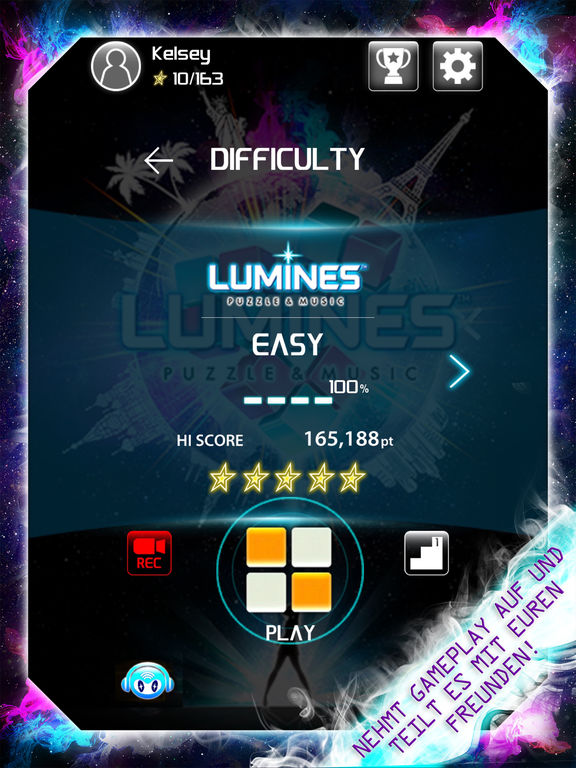Lumines Puzzle & Musik iPhone iPad