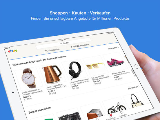 eBay – Kaufen, verkaufen, bieten, sparen! Screenshot