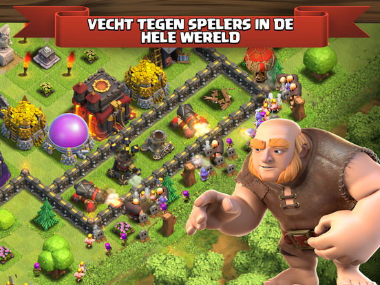 Clash of Clans iPad app afbeelding 3