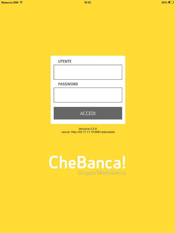 Yellowup Chebanca