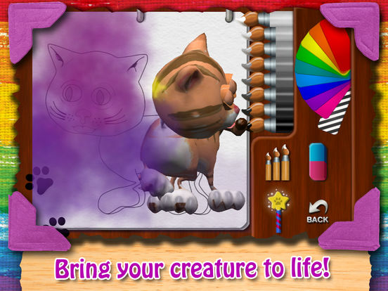 Paint My Cat iPad