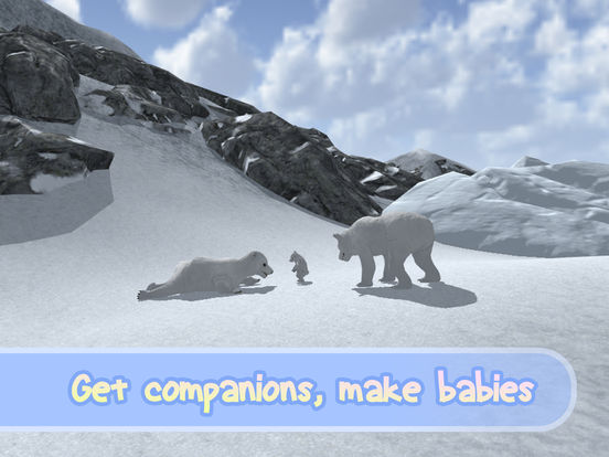 Wild White Polar Bear Simulator Full Screenshots