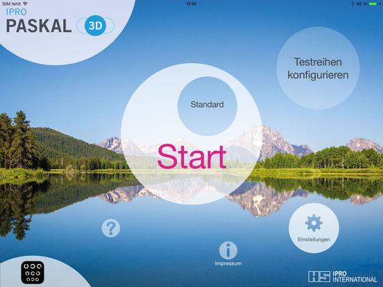 PASKAL 3D Erlebnisrefraktion Screenshot