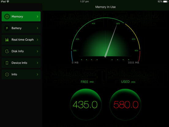 System Activity Monitor - Battery, Free Memory Screenshot