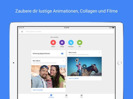 Google Fotos – kostenloser Speicher für Fotos Screenshot