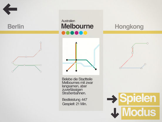Screenshot 3 Mini Metro