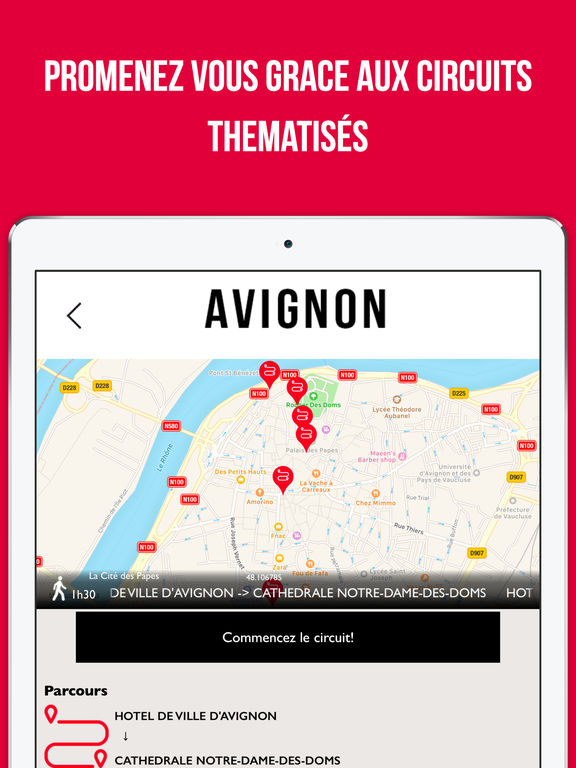 avignon guide voyage shopping dans l app store. Black Bedroom Furniture Sets. Home Design Ideas