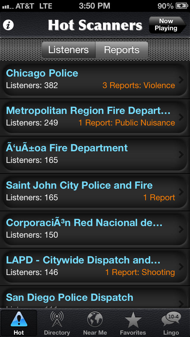 Police Radio screenshot1