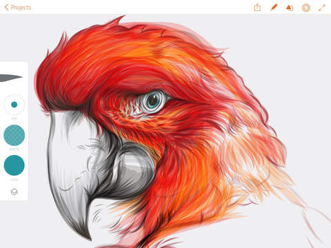 how to hide layers on adobe draw iphone