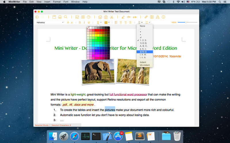 2016年1月21日Macアプリセール ドキュメント制作エディターアプリ「Document Writer ++」が値下げ!