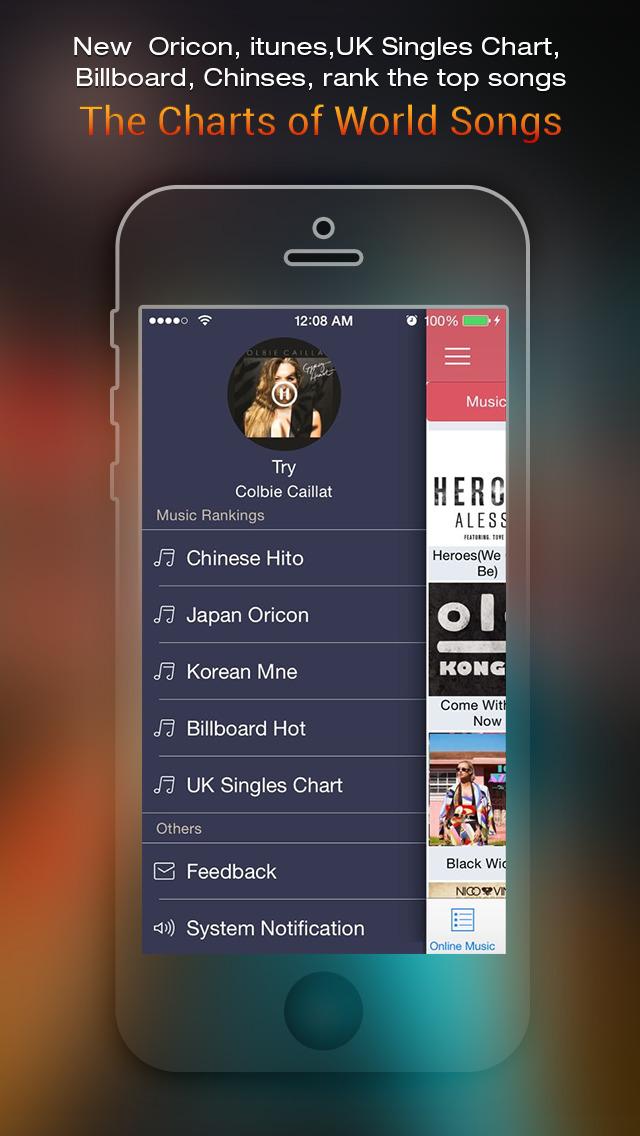 Free MP3 Melody Music player - 無料で音楽ダウンロード - SoundCloudから無料な音楽のおすすめ画像4
