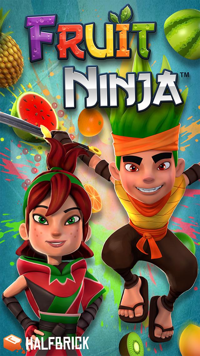 2015年1月26日iPhone/iPadアプリセール 飛んできたフルーツをスワイプで切り落とす爽快ゲーム「Fruit Ninja」が無料!