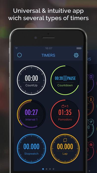 2017年2月8日iPhone/iPadアプリセール マルチタイマー・アラームアプリ「MultiTimer」が無料!