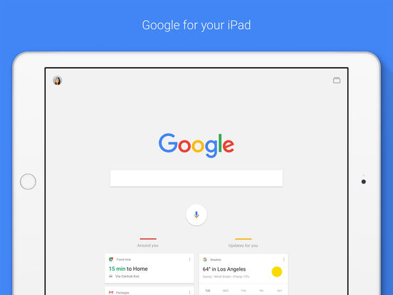 Google app — Search made just ...