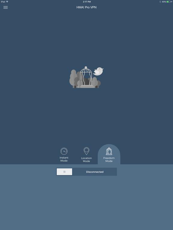 Hide My Ass! VPN - Privacy & Security WiFi Screenshot