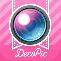 DECOPIC-かわいい写真加工&おしゃれフォントで簡単デコ!無料の可愛いスタンプ・フレーム・フィルター・文字入れでかんたん画像編集