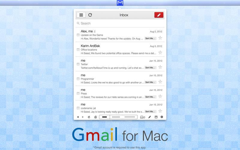 2015年7月15日Macアプリセール Gmailアプリ「App for Gmail Email & Chat」が値下げ!