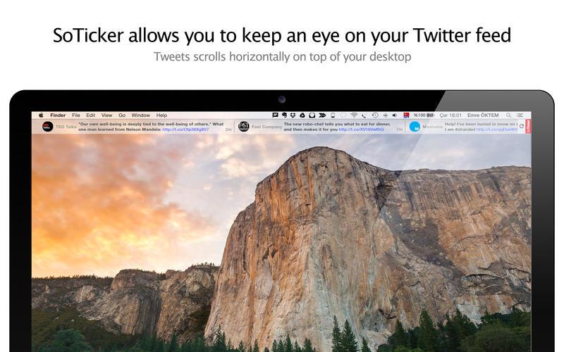 2015年3月12日Macアプリセール Twitterサポートツール「SoTicker」が値下げ!