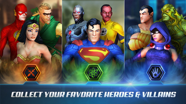 DC Comics Legends Screenshots