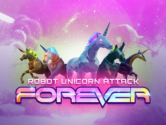 Robot Unicorn Attack 3 Screenshots