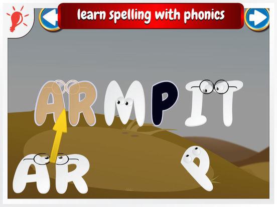 Wonster Words (Pro Edition) spelling, ABC, phonics Screenshots
