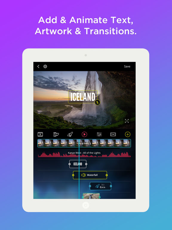 VidLab - Video Editor, Movie Maker & Collages Screenshots