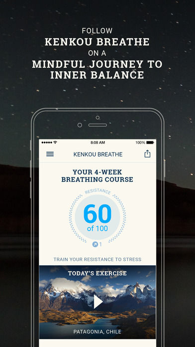 Breathe Pro: Professional breathing course Screenshots