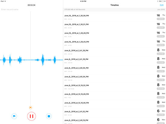 Recorder Pro - Recording App Screenshots