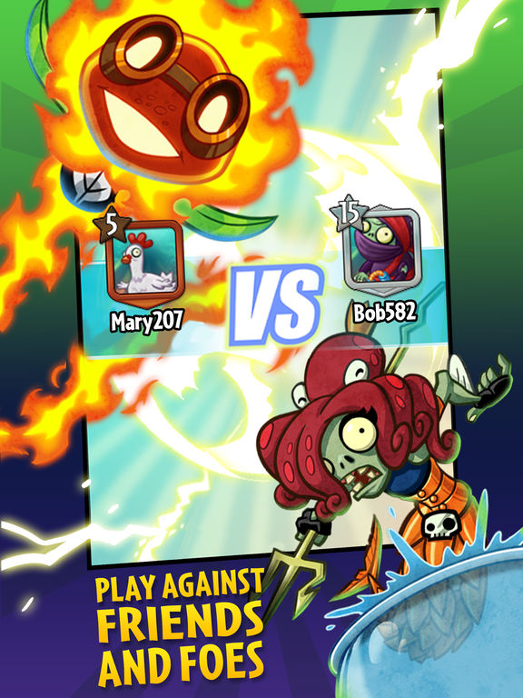 Plants vs. Zombies™ Heroes Screenshots