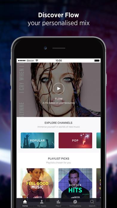 Deezer: Music player app. Download unlimited songs Screenshots