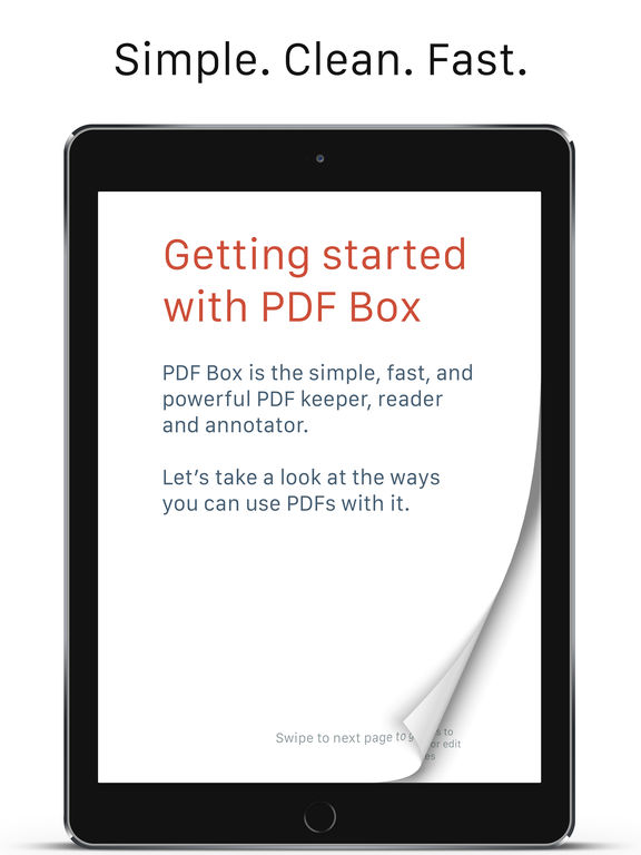 PDF Box – Read, Edit, and Annotate Screenshots