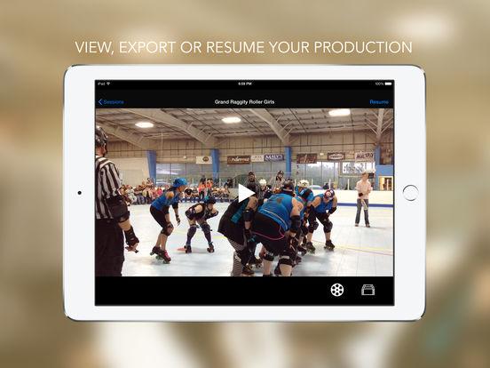 CollabraCam™: Multicam Social Video Production Screenshots
