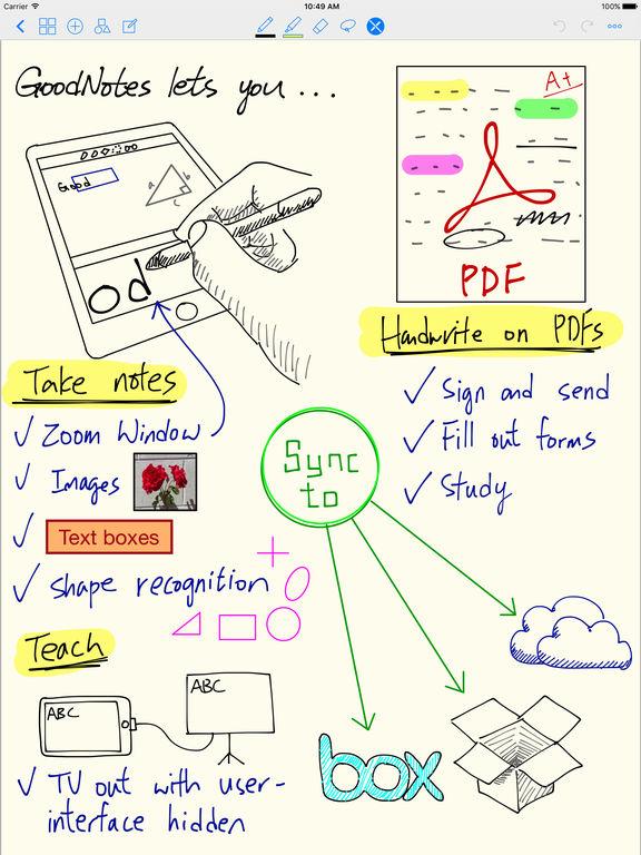 GoodNotes 4 - Notes & PDF Screenshots