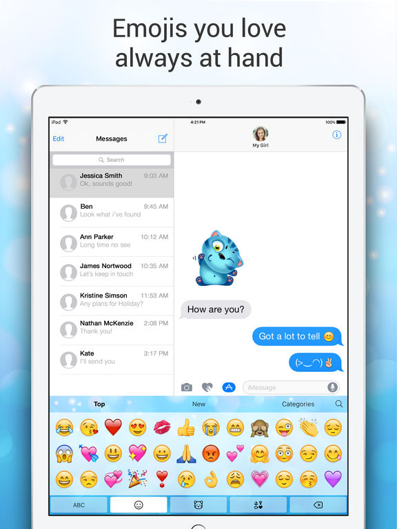 Emoji Keyboard for Me - Keyboard Themes & Emojis Screenshots