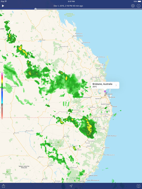 Weather Radar – Weather Forecast & Rain Maps Screenshots