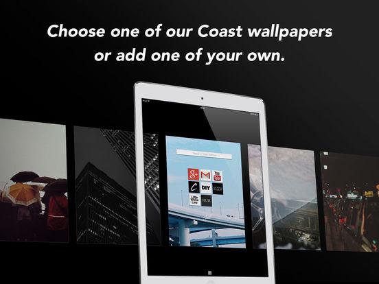 Opera Coast web browser Screenshots