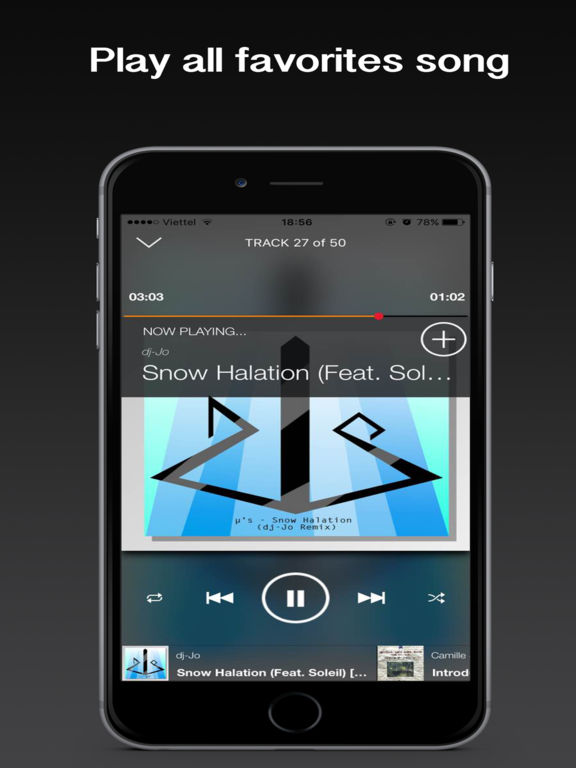 Premium Plus Music, Music Player & Playlist Manager for Spotify Premium Screenshots