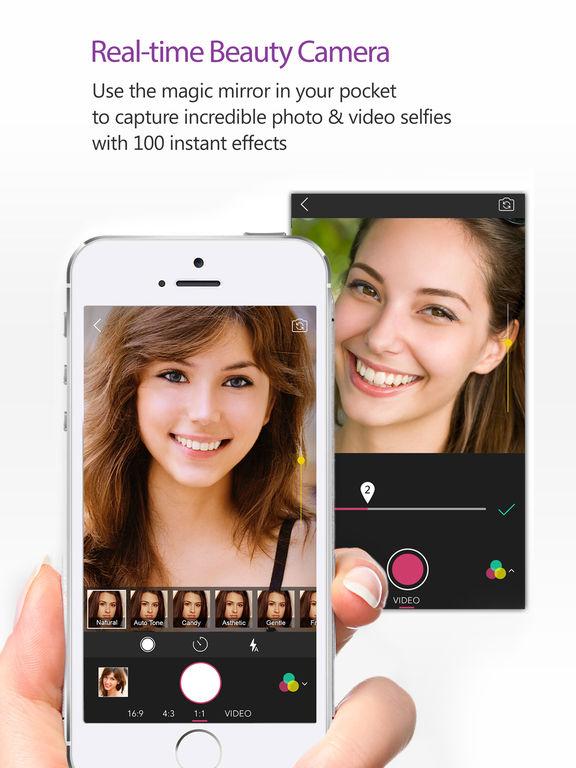 YouCam Perfect- Selfie Cam Screenshots