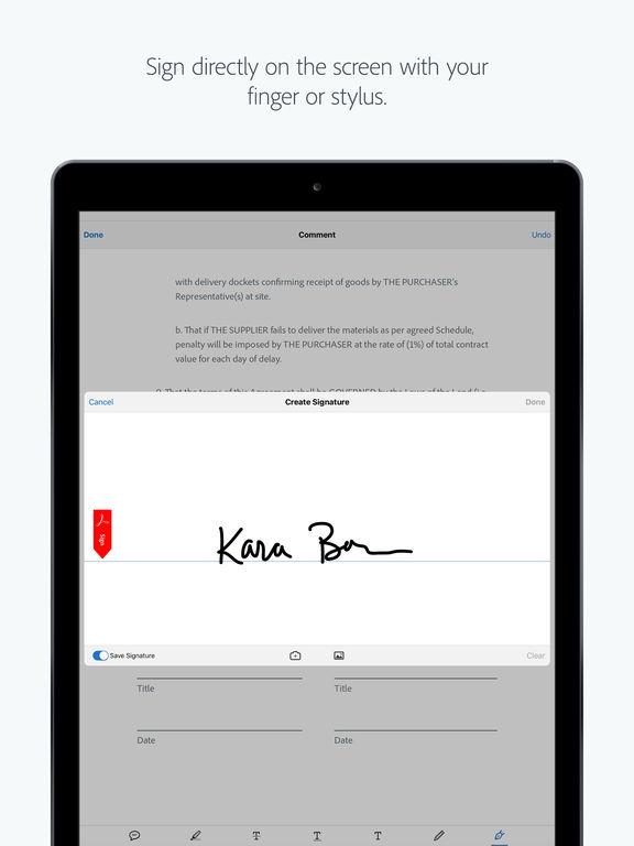 Adobe Acrobat Reader: Annotate, Scan, & Send PDFs Screenshots