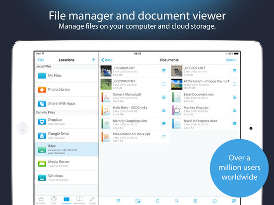 FileBrowser - Access files on remote computers Screenshots